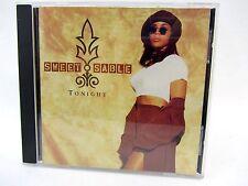 CD Single - Sweet Sable TONIGHT - 1994 SBDJ-78008-2 female hip hop dance