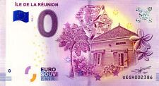 97 ILE DE LA REUNION, 2018, Billet 0 € Souvenir