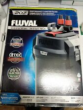 New! Fluval 207 Perfomance Canister Filter