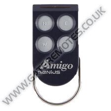 Genius Amigo 4 Gate & Garage Door Remote Transmitter Key Fob