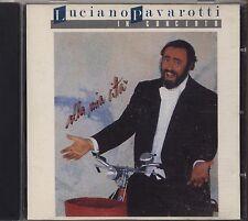 LUCIANO PAVAROTTI - In concerto Alla mia citta' - CD 1988 NEAR MINT CONDITION