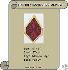 STAR TREK KLINGON HOUSE OF DURAS PATCH - STK14