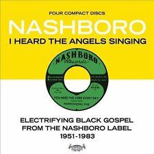 I Heard the Angels Singing Electrifying Black Gospel From Nashboro 4x CD Box Set