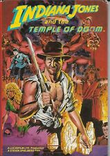 Indiana Jones & The Temple Of Doom (from the film) - hard cover comic book