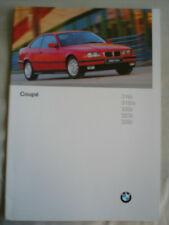 BMW 3 Series Coupe range brochure 1996 Ed 2 German text