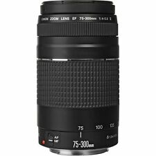 Canon EF 75-300mm f/4-5.6 III Lens 75-300 f4-5.6 for T5i 80D 6D 5D Mark IV ~ NEW