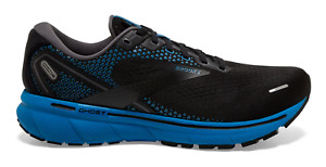 NEW Brooks Ghost 14 Running Shoes Black Blue Men's Sizes 8-14 FREE SHIPPING