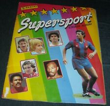 PANINI SUPERSPORT 1988/89 COMPLETE STICKER ALBUM-100% COMPLETE-GOOD CONDITION
