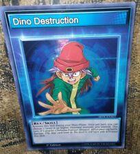 Dino Destruction SBTK-ENS03 Super Rare 1st edition Skill Card Near Mint Yu Gi Oh