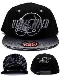 Oakland New Leader Toddler Flash Raiders CLRS Black Gray Era Snapback Hat Cap