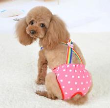 Dots Pet Dog Shorts Diaper Sanitary Physiological Pants Washable Female Panties