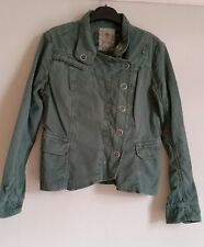 FAT FACE Ladies Jacket Size 10 Green