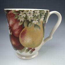 222 Fifth (PTS) YULETIDE CELEBRATION-FRUIT Mug(s) EXCELLENT