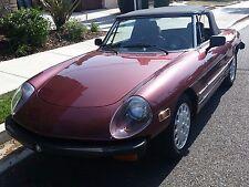 1976 Alfa Romeo Spider California sehr guter Zustand. Erste Hand.100% Rostfrei