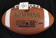 Spalding Football TF SB1 Spiral Balance Full Size Leather NFHS Paint Damaged