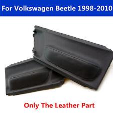 Lampr Door Panel Insert Card Leather Cover Fit For Volkswagen Beetle 98 10 Black Fits 2004 Volkswagen Beetle