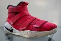 Nike LeBron Soldier 11 Red 918369 601 Youth Basketball Shoes Boy's Size 6.5Y