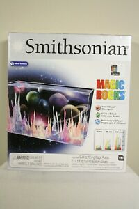 Smithsonian Magic Rocks Growing Crystals Kit Earth Science Home School Space