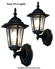 Pack Of 2 Elegant Wall Mount Lighting Systems For Auto Dusk-To-Dawn illumination