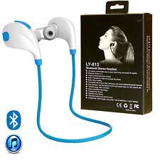 Wireless Bluetooth Sport Stereo Sweatproof Earphone Headset for iPhone Samsung