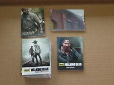 2016 AMC The Walking Dead COMPLETE MASTER SET 1-72 PLUS 3 INSERT SETS 94 CARDS