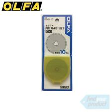 OLFA ROTARY CUTTER REPLACEMENT BLADES 10pk - RB45-10 (FOR 45mm Rotary Cutters)