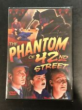 The Phantom of 42nd Street (DVD, 2004) Dave O'Brien Brand New