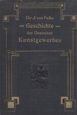 Kunstgewerbe. - Falke, Jakob v. Ästhetik des Kunstgewerbes. EA 1883