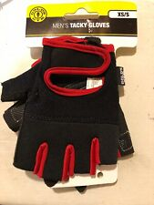 Gold's Gym Men's Tacky Gloves Half-Finger Weight Lifting XS/S