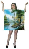 Rasta Imposta Couples Costume Women's Bob Ross Adult Painting Dress