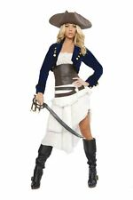 Roma Deluxe Pirate Sexy Pirates of the Caribbean Dead Men Tell No Tales Costume