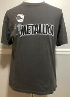 Metallica Grey T-Shirt Tee Size Large Squindo Cartoon
