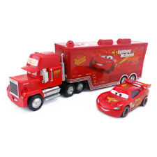 Disney Pixar Car No.95 Mack Racer's Truck & Lightning McQueen Toy Car 1:55 Loose