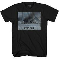 Star Wars Imperial Walker Epic Fail Snow Funny Adult Men's Graphic T-Shirt Tee