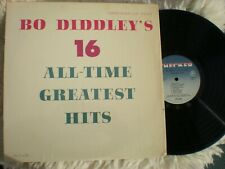 Bo Diddley lp 16 All-Time Greatest Hits Checker 12994 Stereo Shrink