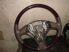 02 03 04 05 06 Lexus ES300 ES330 Steering Wheel Wood Leather Beige