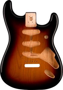 New Fender 998003700 Stratocaster Body Classic 60s Alder Sunburst