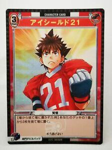 Eyeshield 21 Q6 Konami trading card game carddass Foot US NFL holo 02C-003UR