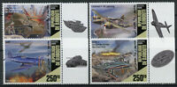 Djibouti Military Stamps 2020 MNH WWII WW2 Battle of Iwo Jima Aviation 4v Set