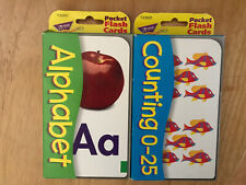 Alphabet And Counting (0-25) Pocket Flash Cards Kids