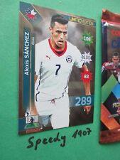 Copa america chile 2015 Limited Edition Vidal Alexis Sanchez Adrenalyn
