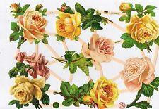 Bogen toll auch zum Basteln 3D # GLANZBILDER # MLP 1990 sehr schöner Blumen
