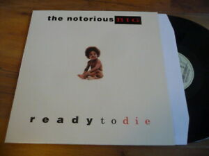 MINT LP THE NOTORIOUS BIG READY TO DIE REISSUE no IAM NTM cypress hill nas