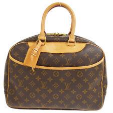 LOUIS VUITTON DEAUVILLE BOWLING BUSINESS HAND BAG PURSE M47270 VI0948 80291