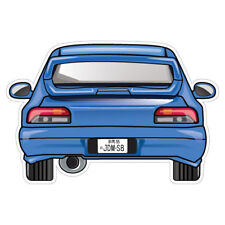 IMPREZA WRX GC8 JDM Sticker Decal Car JDMSB Garage Drift Vinyl #1505K