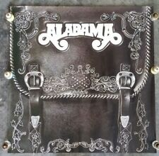Original 1980s ALABAMA (Music Band) In-Store PROMO POSTER Saddle Bags Design