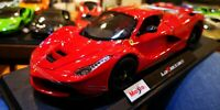 Maisto 1:18 Scale Ferrari LaFerrari - Red - Diecast Model Car NEW In Retail BOX!