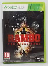 RAMBO THE VIDEO GAME - XBOX 360 XBOX360 - PAL ESPAÑA - VIDEOGAME