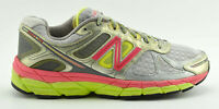 NEW BALANCE 860V4 RUNNING SHOES SIZE 10.5 D WIDE SILVER GRAY PINK YELLOW W860SP4