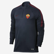 NIKE A.S. ROMA DRILL MEN'S FOOTBALL TRAINING TOP 2016/17 NEW S 836802-451